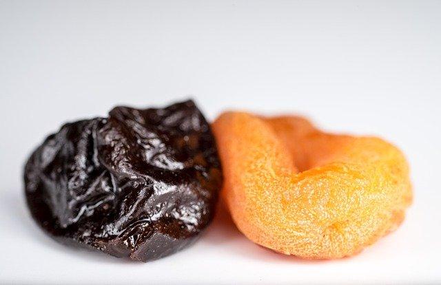 sušená meruňka