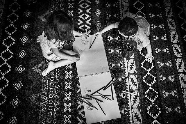 Krásný koberec, který má jasný původ