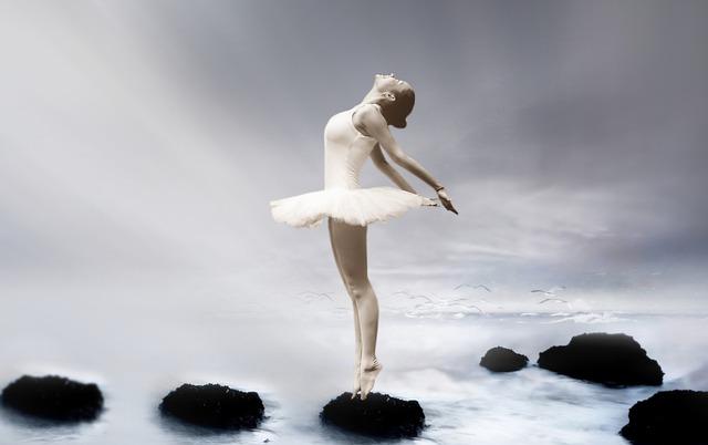 baletka v mlze