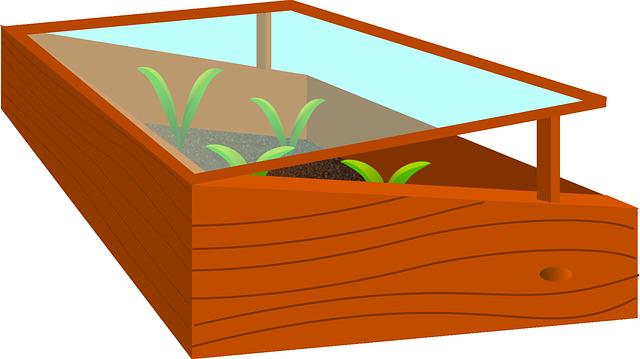 Zelenina pod střechou