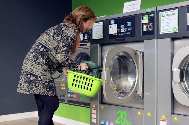 plnění pračky