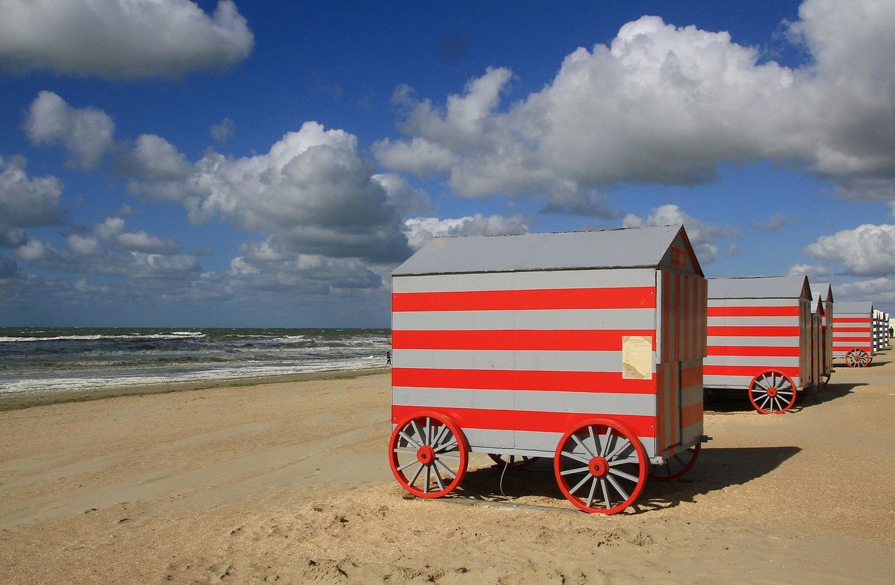 mobilní dům u moře